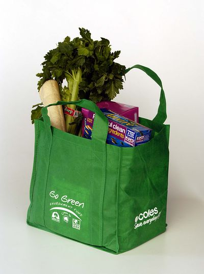 Coles greenbag